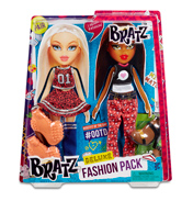 Bratz Deluxe Fashion Pack RED DRESS, BLUE SOCKS…