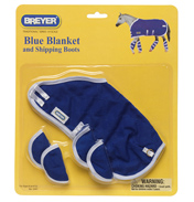 Blue Blanket & Shipping Boots