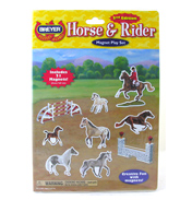 Horse & Rider Magnetic Play Set