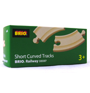 Brio Short Curved Track Pack