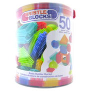 Bristle Blocks Basic Builder Bucket (50 Piece)