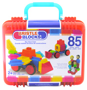 Bristle Blocks Big Value Case (85 Piece)