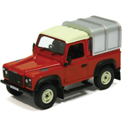 Britains Land Rover Defender 90 plus Canopy in Red…