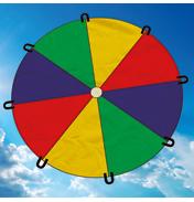 Brookite 2.4 Metre Play Parachute