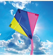 Brookite Mini Flyer Diamond Kite