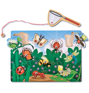 Bug-Catching Magnetic Game