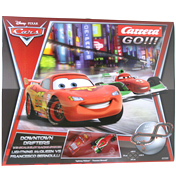 Carrera Go! Disney Cars Downtown Drifters Slot Car Set