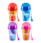 Chillfactor Colour Splash Slushy Maker RED