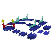 Chuggington Diecast Cross & Switch Track Pack