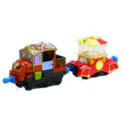 Chuggington Trains |  Hodge with Popcorn Car