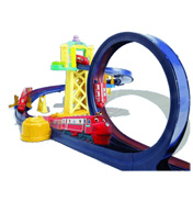 Chuggington Training Yard Playset with Loop