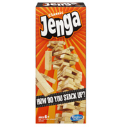 Classic Jenga Game from Hasbro (BOXED)