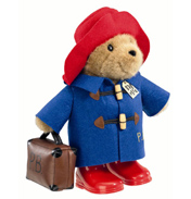 Classic Paddington Bear with Boots & Suitcase