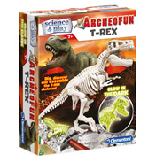 Clementoni Archeofun Glow in The Dark T-Rex…