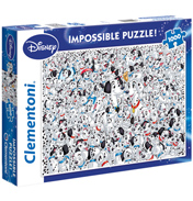 "101 Dalmatians ""Impossible"" 1000 Piece Jigsaw Puzzle"