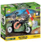 The Historical Collection WWII 1942 BMW R75 Building Set