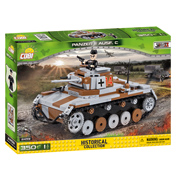 The Historical Collection WWII Panzer II Ausf. C Building Set