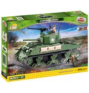 WWII Sherman M4A1 Tank Building Set