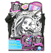 Color Me Mine Monster High Messenger Bag