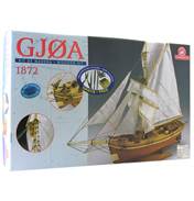 Constructo Gjoa Wooden Kit (Scale 1:64)