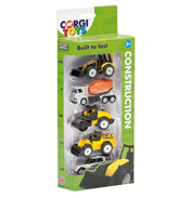 Construction Die-Cast Vehicles 5 Pack