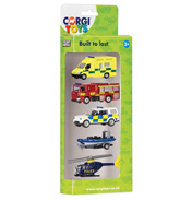 Die-Cast Emergency Vehicles 5 Pack
