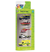 Corgi Die-Cast Rescue Vehicles 5 Pack