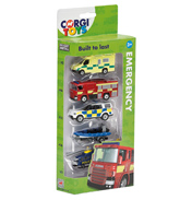 Emergency Die-Cast Vehicles 5 Pack