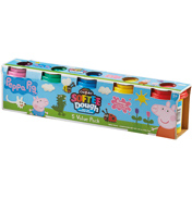 Cra-Z-Art Softee Dough 5 Tub Pack