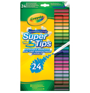 Crayola Supertips Washable Pack of 24