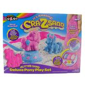 Cra-Z-Sand Glitter Sand Deluxe Pony Play Set