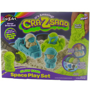 Cra-Z-Sand Glow Sand Space Play Set