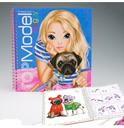 TOPModel Create Your TOPModel Doggy Colouring Book