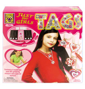 Creative Just for Girls Tags