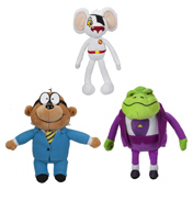 Danger Mouse Small Plush with Sound Assorted