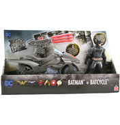 Justice League Batman & Batcycle