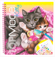 Depesche Create Your TOPModel Kitty Colouring Book
