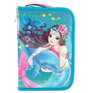 Deluxe Dolphin Fantasy Model  Filled Pencil Case