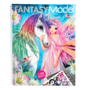 Fantasy Model Create Your Fantasy Model Colouring Book