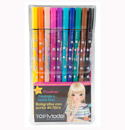 Depesche TOPModel Fineliner, 10 Colours