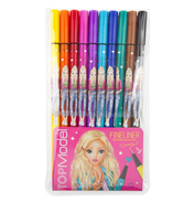 TOPModel 10 Colour Fineliner Set