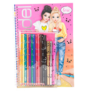 Colouring Book with Pencil Set