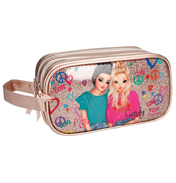 Friends Double Tier Pencil Case in Gold