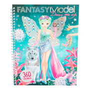 Fantasy Model Dress Me Up Stickerbook