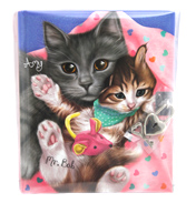 Lockable Cats Diary