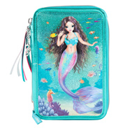Fantasy Model Mermaid Triple Tiered Filled Pencil Case