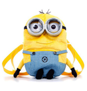 "Despicable Me 13"" Plush Back Pack"