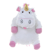 Despicable Me 3 Fluffy Unicorn Plush Backpack