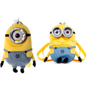 Despicable Me Plush ONE-EYED Minion Backpack