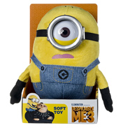 Despicable Me Carl Soft Toy